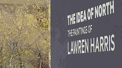 A12935 / sign on a terrace of the hammer museum