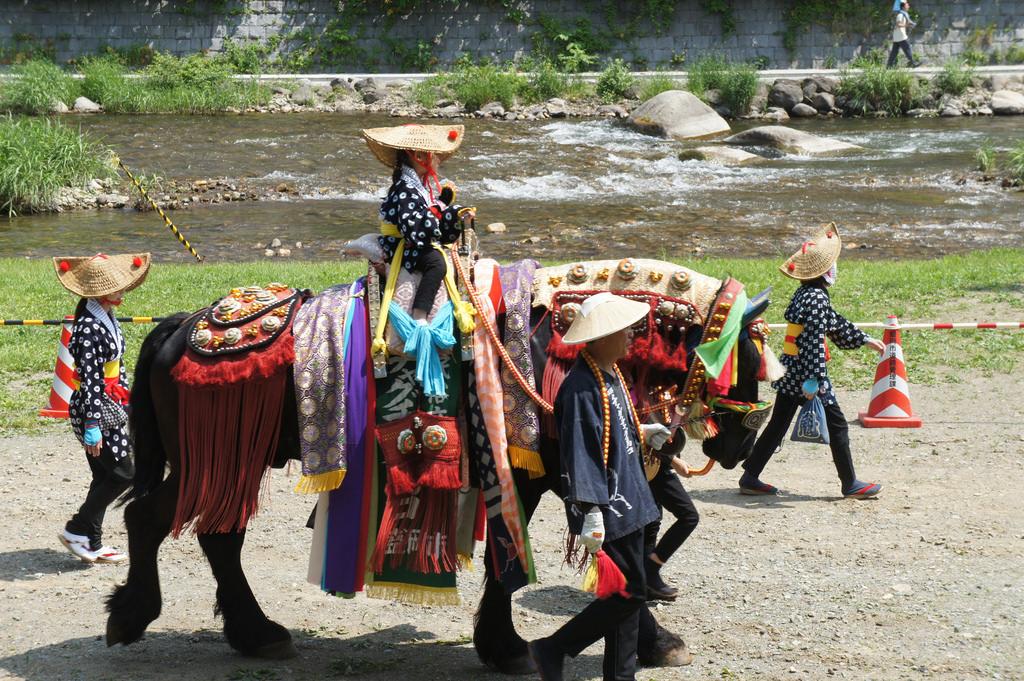 """Chagu-Chagu Umako"", Ring-ring horses parade festival"