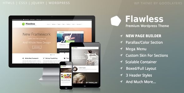 Flawless v1.17 - Responsive Multi-Purpose WP Theme