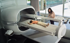 Healing bed with Keshe Magrav technology similar to that in the movie Elysium