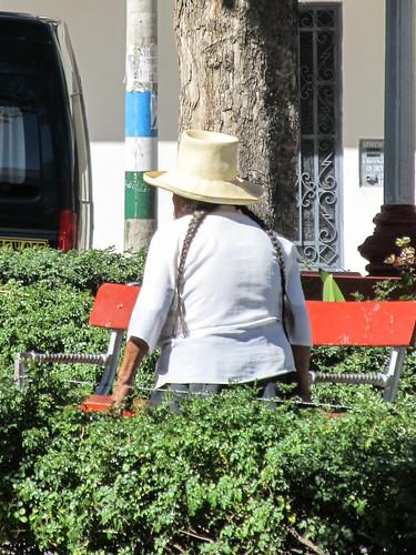 Caraz: chapeau traditionnel !