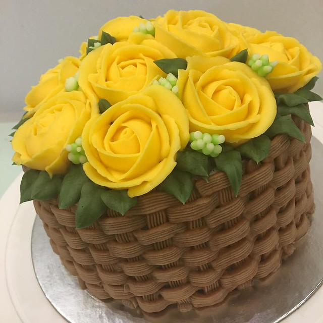 Flowers Birthday Cake by Angelica Rose Delos Reyes - Alovera