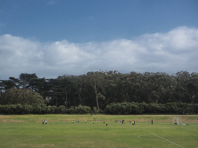 Polo Fields in Golden Gate Park, San Francisco.  May 6, 2013