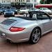 2009 Porsche 911 Carrera S (997) Cabriolet GT Silver on Black in Beverly Hills @porscheconnect 1232