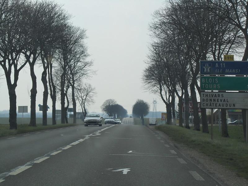 Par les routes de la France