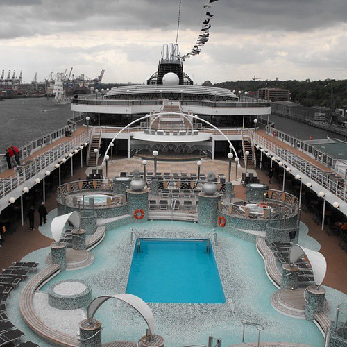 MSC Magnifica - Main pool deck by chrisLgodden