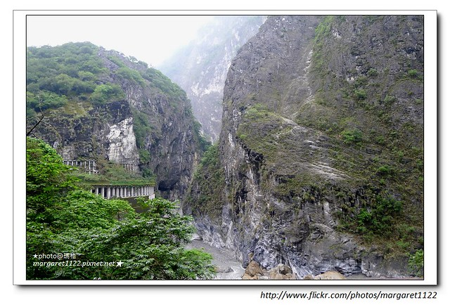 【花蓮遊記】太魯閣國家公園。白楊步道、白楊瀑布、水濂洞