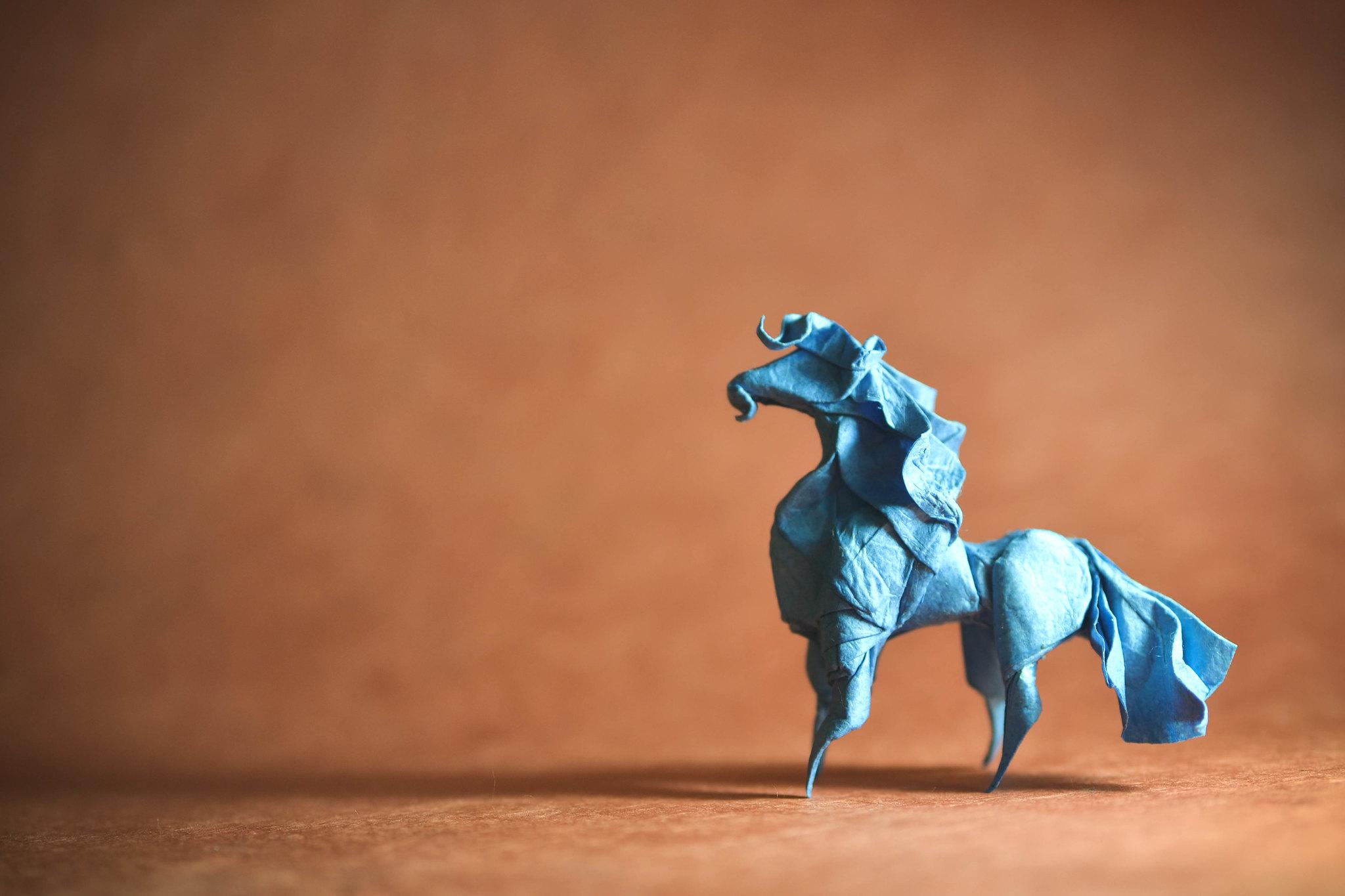Origami Horse - Hoang Tien Quyet