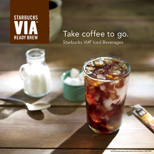 Starbucks VIA Iced Coffee Sweetened
