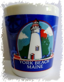 York Beach, Maine shotglass