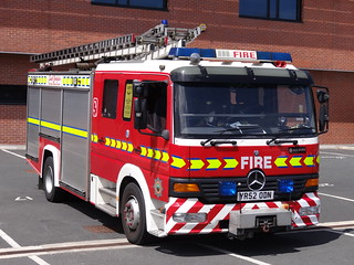 South Yorkshire Fire & Rescue Service Mercedes Atego Water Ladder