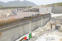 Ethiopia invests more of its resources in hydropower than any other country in Africa. Pictured here is the Grand Ethiopian Renaissance Dam, situated in Ethiopia's Benishangul-Gumuz Region on the Blue Nile. Credit: William Davison/IPS
