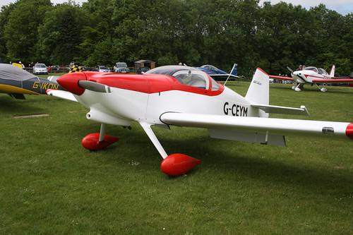 G-CEYM Van's RV-6 [PFA 181A-14595] Popham