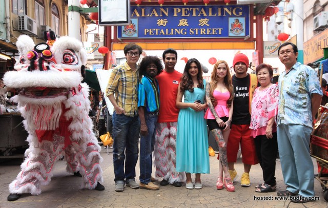 Namewee Banglasia - Pc Opening Shoot Day (11June2013) Copy