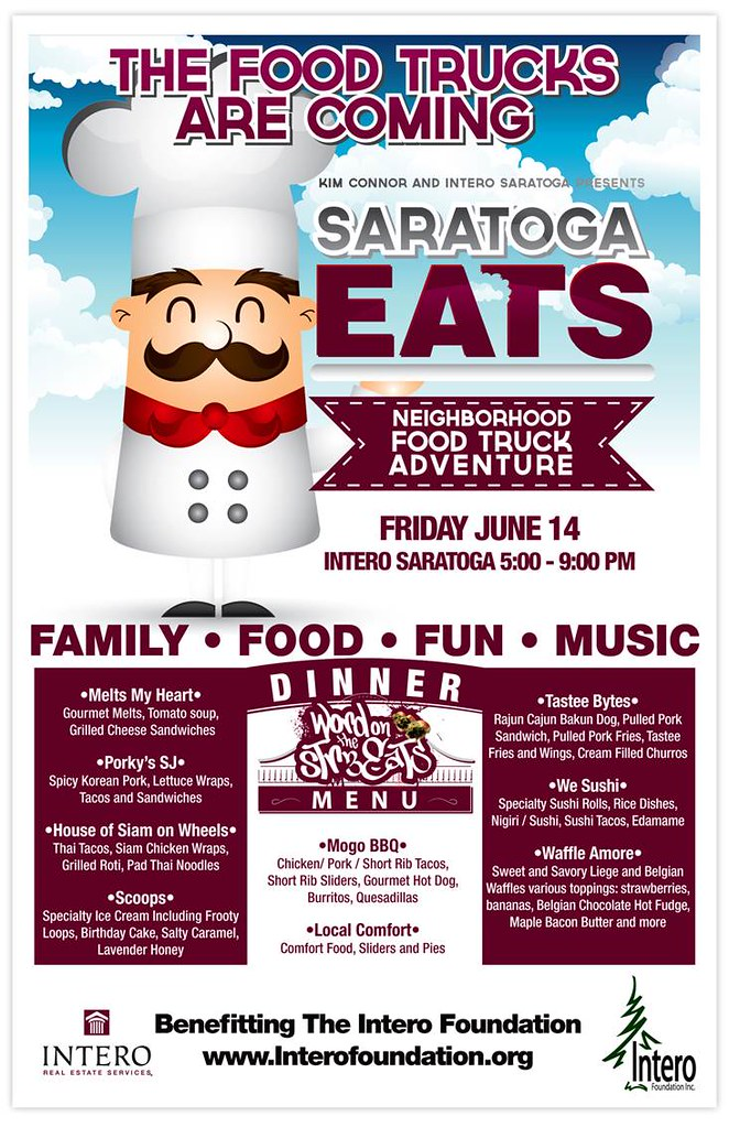 Intero Saratoga Presents Saratoga Eats Neighborhood Food Truck Adventure
