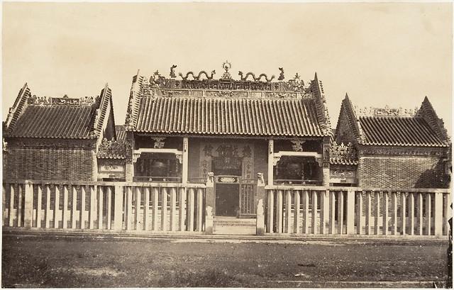 Cholon 1866 - Pagode de la Ville Chinoise