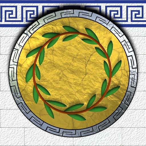 Athenian ShieldAncient Athenian Shield