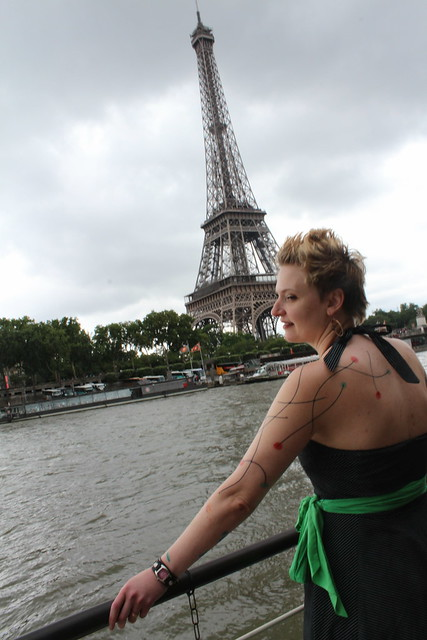 Erica, new tattoos, and some tower