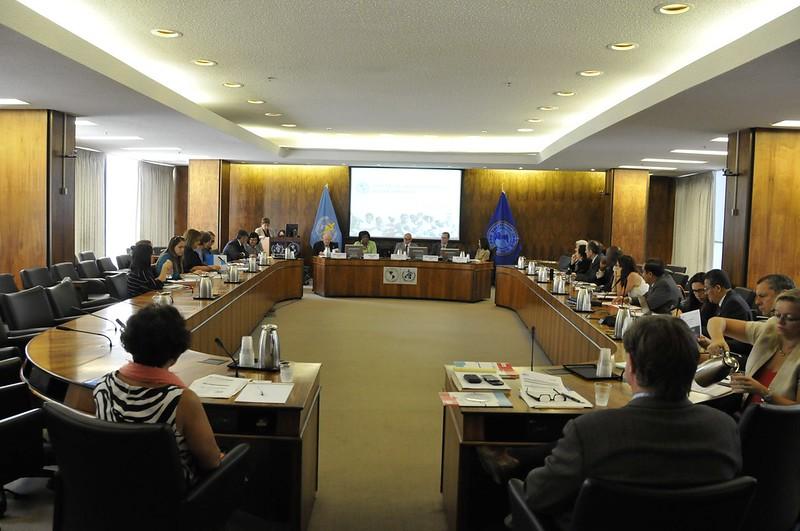OPAS e UNICEF durante encontro para definir cooperação. Foto: OPAS