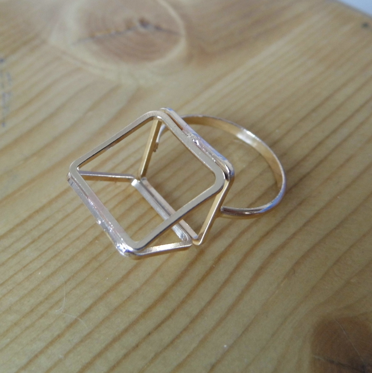 Topshop Pyramid Ring