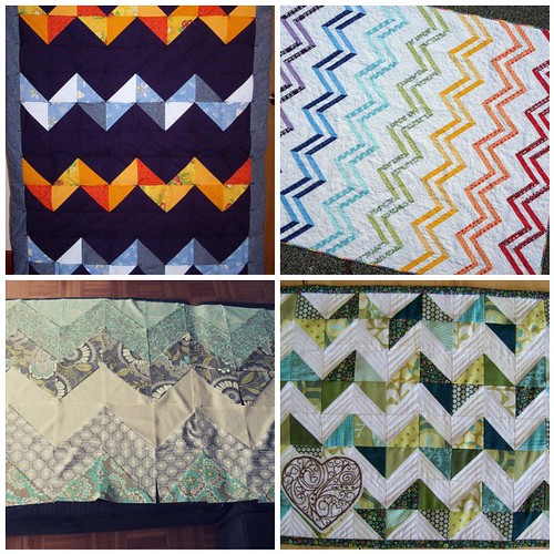 4 Zig Zag Quilts
