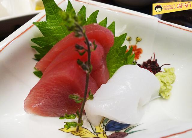 Tempura Hisago - sashimi