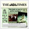 Man Lands on the Moon 1969