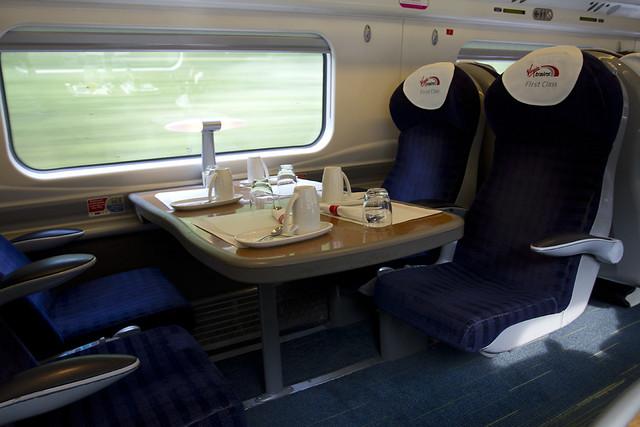 Virgin Class 390 Pendolino First Class
