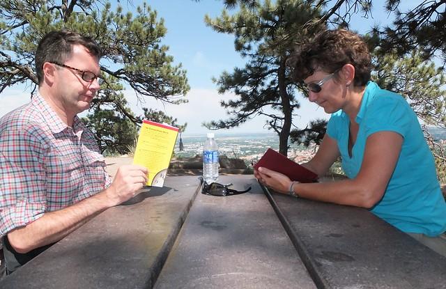 Boulder, lezen