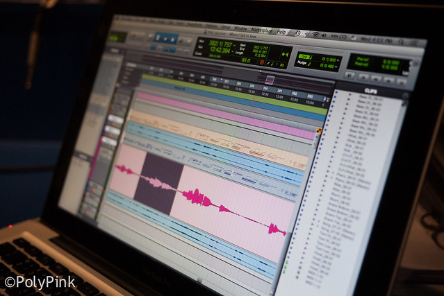 365 Days : Day 74 - my 2nd project on Pro Tools
