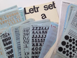 Letraset Tuesday at St Bride