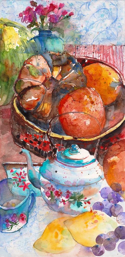 Truly Blue #18 - Fruit Basket