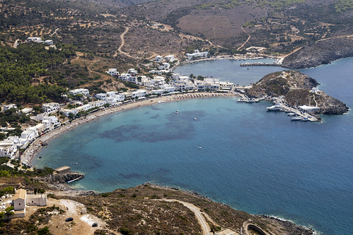 Kythira Castle Of Chora, Kapsali Bay