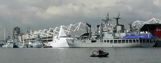 Royal Victoria Dock Naval Base (AKA Excel) 12-09-13