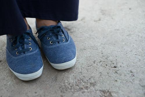 navy maxi keds sneakers