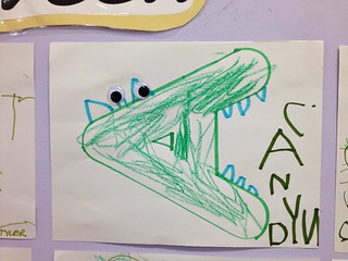 'A' is for alligator! #weekinthelife