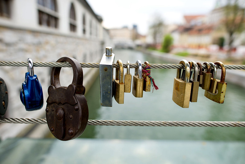 Love Locks Slovenia