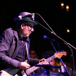 On the eve of the release of their collaboration, Elvis Costello and The Roots meet in Brooklyn to tear the place up. Photo by Laura Fedele