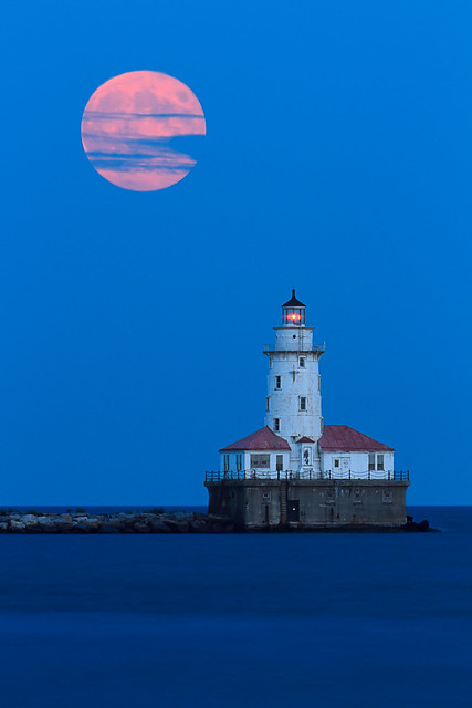 Harvest Moon Lighthouse