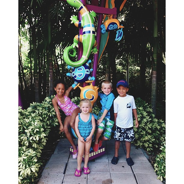 Fun day at Aquatica to celebrate Hunter's birthday. My version of a birthday party .  #pictapgo_app