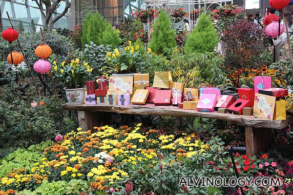 Mid-autumn display