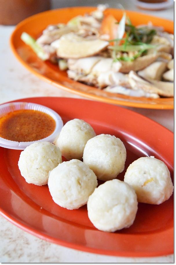 Melaka Chicken Rice Balls