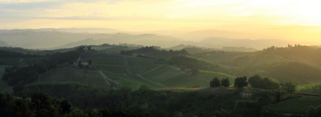 Tuscany - break of dawn