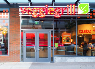 Veggie Grill Entrance