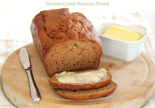 Caramelised Banana Bread 3