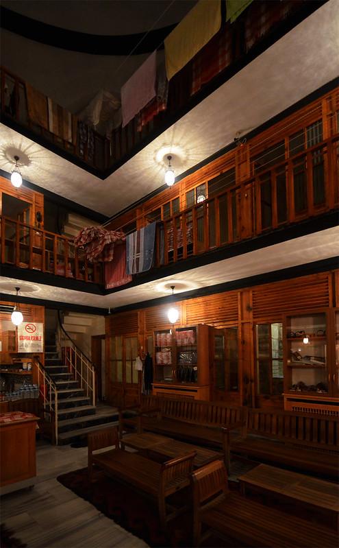 Interior del hamman Çemberlitas de Estambul