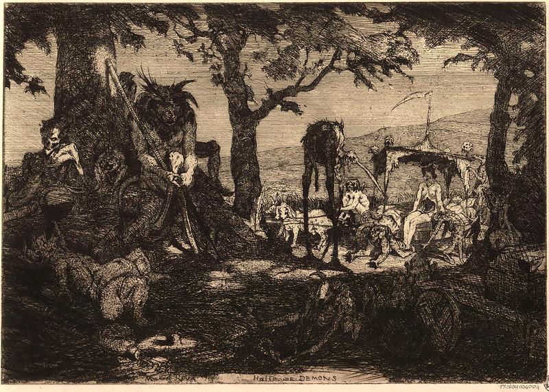Marcel Roux - Halte de démons (1904)