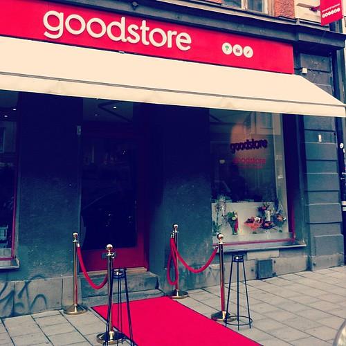 Hurra för @goodstores Hornstull!