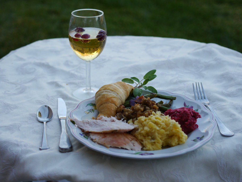 Thanksgiving for 1 (Guest Post by SilingLDS Girl} via LittleFerraroKitchen.com