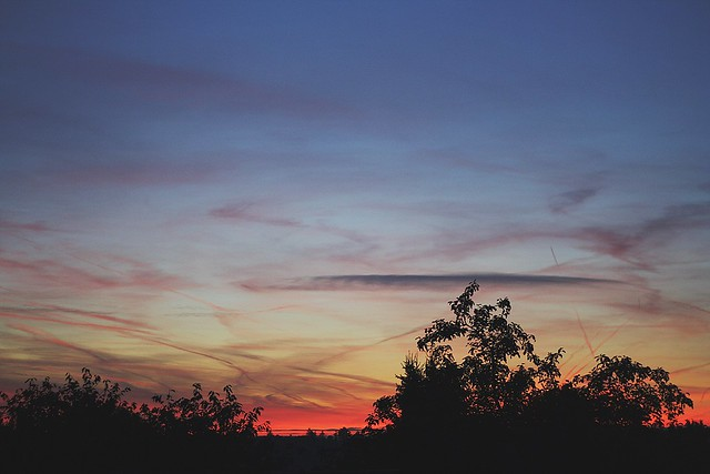 evenings and skycolours